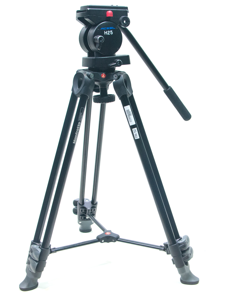 Manfrotto tripod legs with a Acebil H25 tripod head