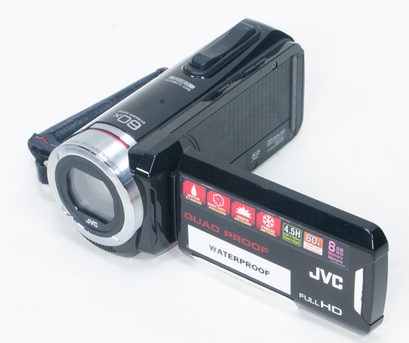 A water and freeze resistant JVC camera