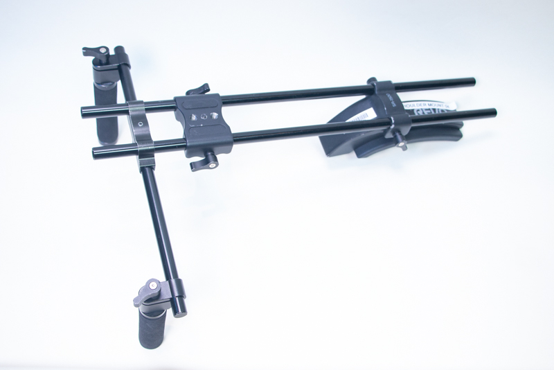 A dual-grip Revo shoulder mount